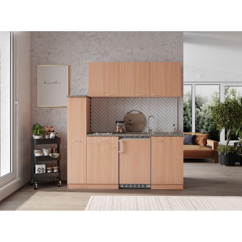 respekta economy k chenzeile kb180bbc 180 cm buche kaufen bei obi. Black Bedroom Furniture Sets. Home Design Ideas