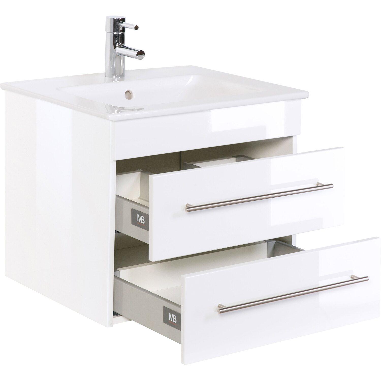Waschplatz 60 Cm Venticello Weiß Hochglanz Kaufen Bei Obi