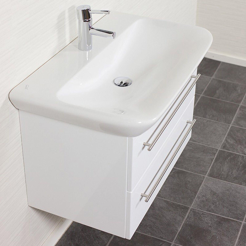 Waschtisch mit unterschrank weiß  Waschbecken mit Unterschrank kaufen bei OBI