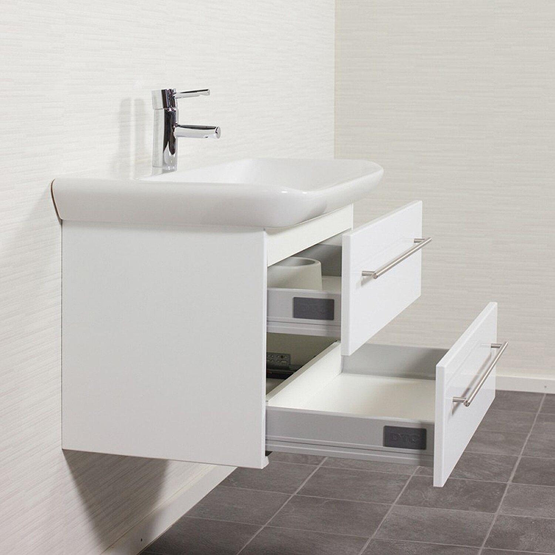 keramag waschplatz 80 cm myday wei hochglanz kaufen bei obi. Black Bedroom Furniture Sets. Home Design Ideas