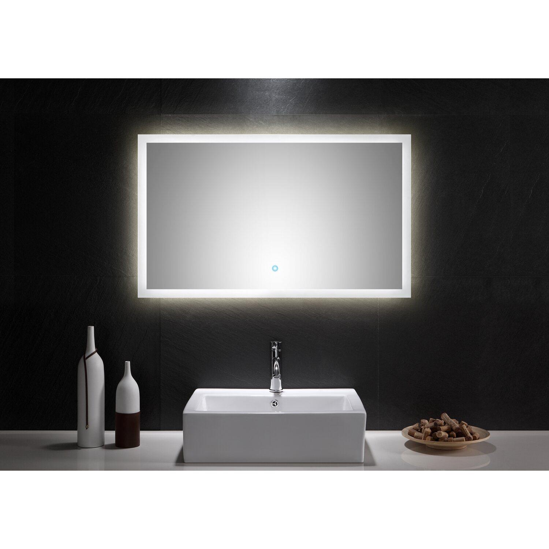 led lichtspiegel 100x60 cm neutralwei mit touch bedienung eek a kaufen bei obi. Black Bedroom Furniture Sets. Home Design Ideas