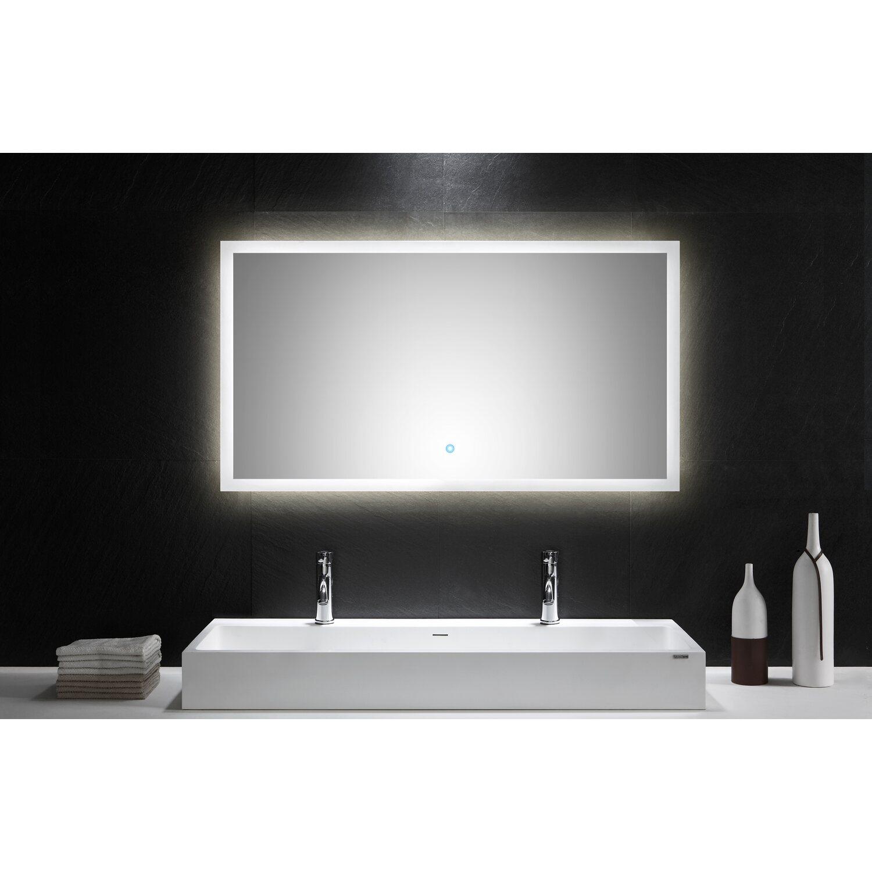 led lichtspiegel 120x65 cm neutralwei mit touch bedienung eek a kaufen bei obi. Black Bedroom Furniture Sets. Home Design Ideas