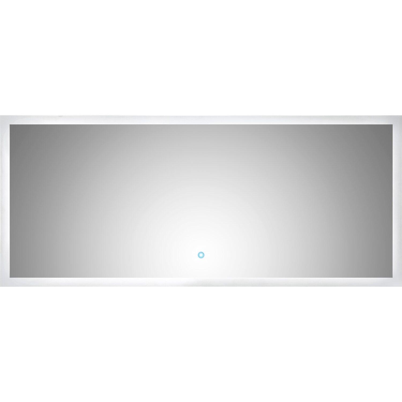 Led Lichtspiegel 140x60 Cm Neutralweiß Mit Touch Bedienung Eek A