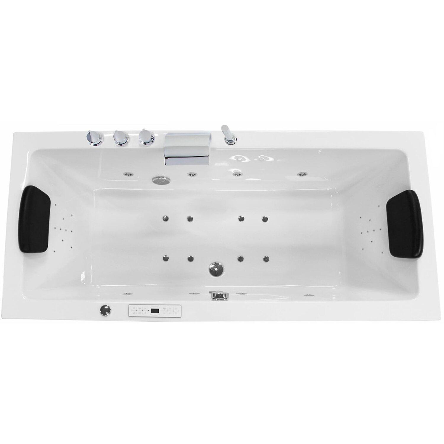 Emotion Premium Whirlpool Luzy 150 cm x 75 cm Weiß   Bad > Badewannen & Whirlpools > Whirlpools   Emotion
