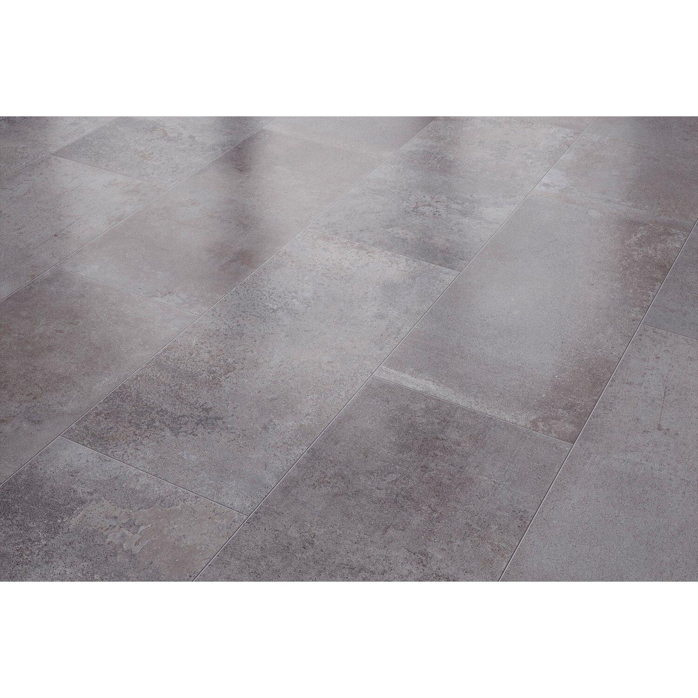 Visiogrande Laminatboden Zementestrich Stein Taupe Dunkel Kaufen Bei Obi