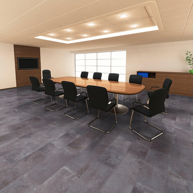 visiogrande laminatboden zementestrich taupe kaufen bei obi. Black Bedroom Furniture Sets. Home Design Ideas