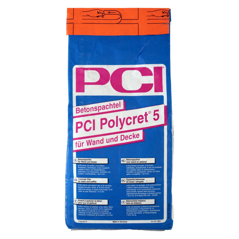 PCI Polycret 5 Betonspachtel Grau 5 kg kaufen bei OBI