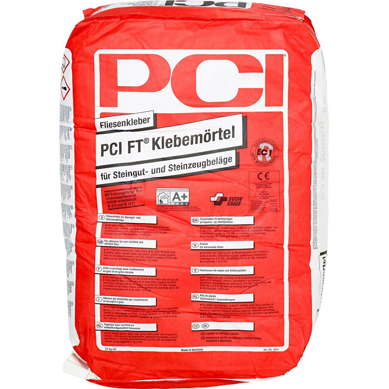 PCI  FT-Klebemörtel Fliesenkleber Grau 25 kg