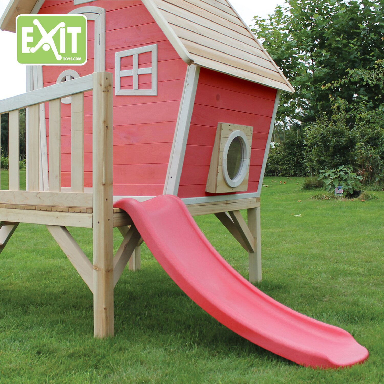 exit stelzen spielhaus fantasia 300 rot kaufen bei obi. Black Bedroom Furniture Sets. Home Design Ideas