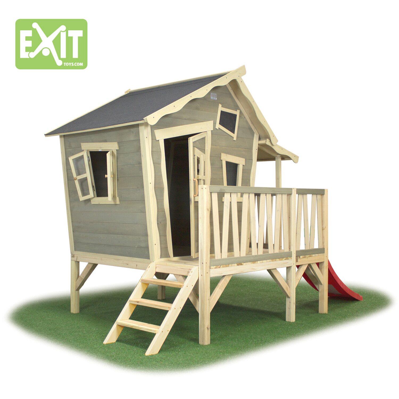 Exit Stelzen Spielhaus Crooky 350 Mit Rutsche Kaufen Bei Obi