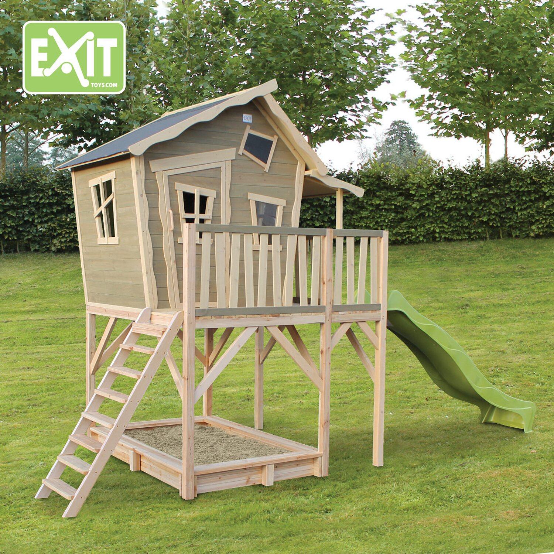 Häufig Exit Spielturm Crooky 750 mit Rutsche kaufen bei OBI AG53