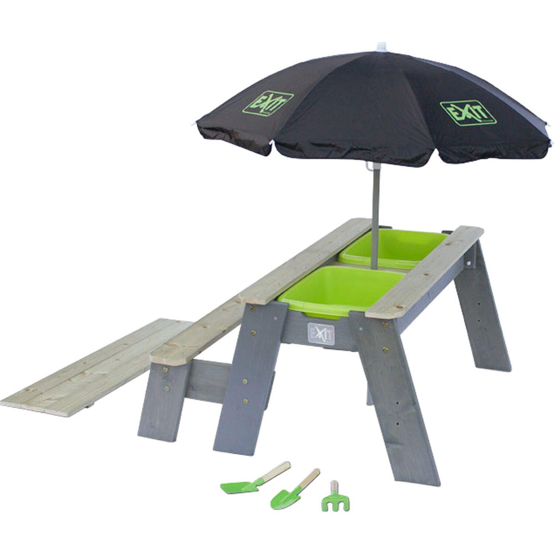 exit sand wasser picknick tisch aksent deluxe mit 1 sitzbank kaufen bei obi. Black Bedroom Furniture Sets. Home Design Ideas