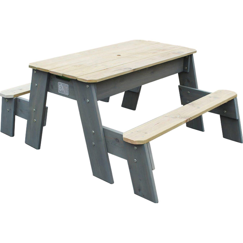 exit sand wasser picknick tisch aksent mit 2. Black Bedroom Furniture Sets. Home Design Ideas