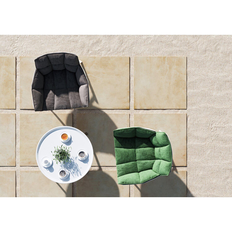 Terrassenplatte Feinsteinzeug Stone Beige 59 3 Cm X 59 3 Cm Kaufen