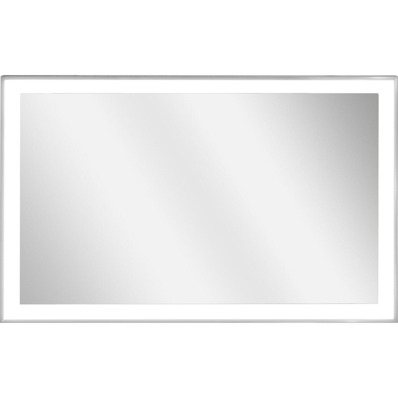 vasner spiegel infrarotheizung zipris s led 500 w mit licht und chrom rahmen kaufen bei obi. Black Bedroom Furniture Sets. Home Design Ideas