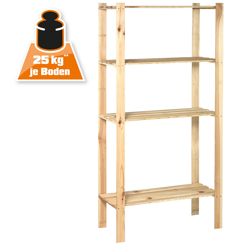 OBI Holz Schraubregal 170 Cm X 85 40 Kaufen Bei