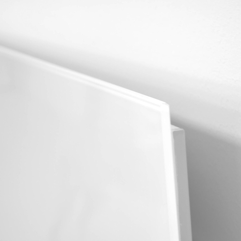 vasner zipris gr glas infrarotheizung 400 w rahmenlos wei kaufen bei obi. Black Bedroom Furniture Sets. Home Design Ideas