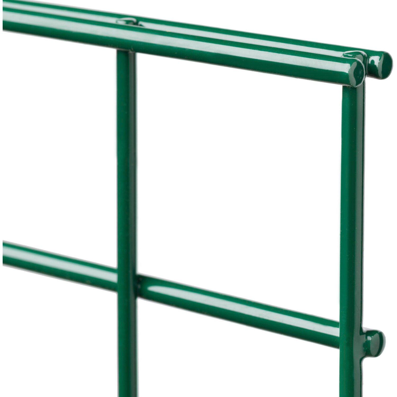 Brandneu Metallzaun-Set Michl Höhe 120 cm Länge 4 m Grün kaufen bei OBI GE77