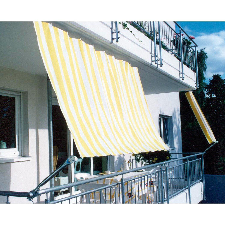 floracord balkonverkleidung bausatz ii gelb wei 270 cm kaufen bei obi. Black Bedroom Furniture Sets. Home Design Ideas