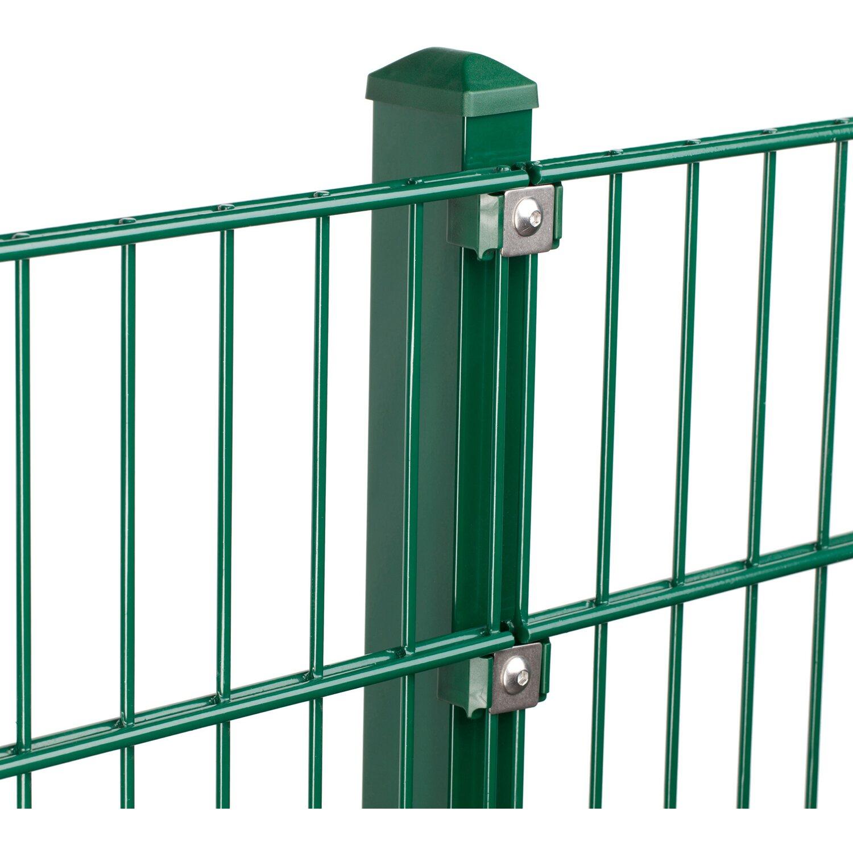 Metallzaun Set Pico Höhe 80 cm Länge 4 m Grün kaufen bei OBI