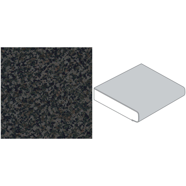 arbeitsplatte 60 cm x 3 9 cm granit anthrazit gt117 bril. Black Bedroom Furniture Sets. Home Design Ideas
