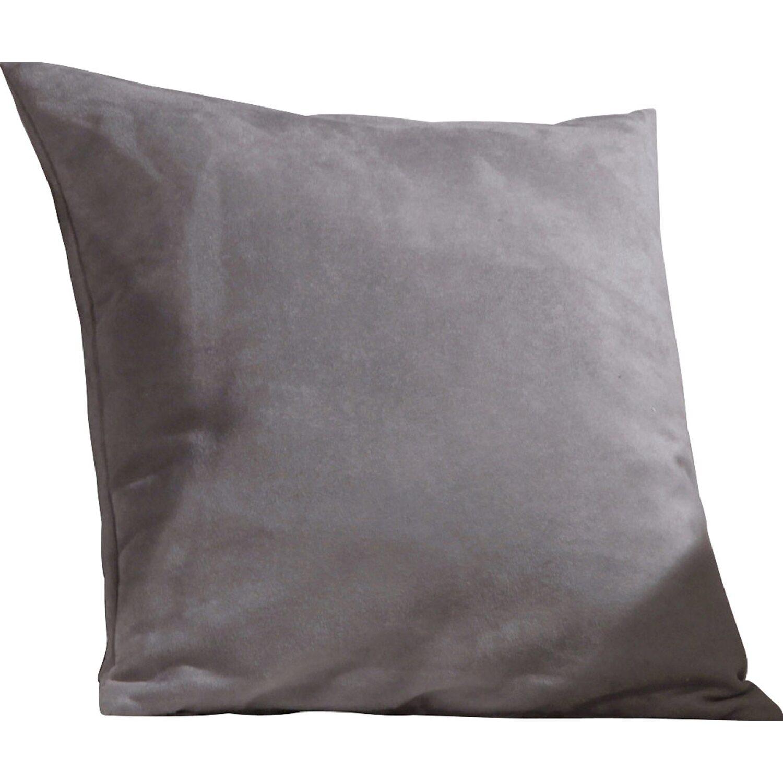 gef lltes kissen athen grau 40 cm x 40 cm kaufen bei obi. Black Bedroom Furniture Sets. Home Design Ideas