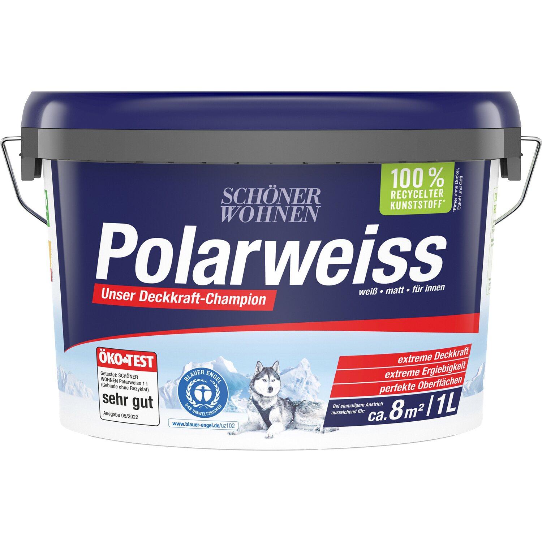 Schoner Wohnen Innen Und Wandfarbe Polarweiss Matt 1 L Kaufen Bei Obi