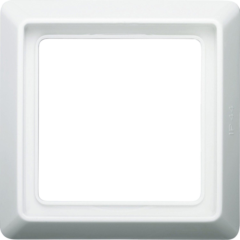 Busch-Jaeger Abdeckrahmen 1-fach Allwetter Weiß