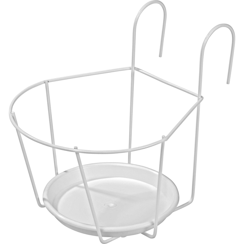 OBI Hakentopfhalter Weiß Ø 20 cm