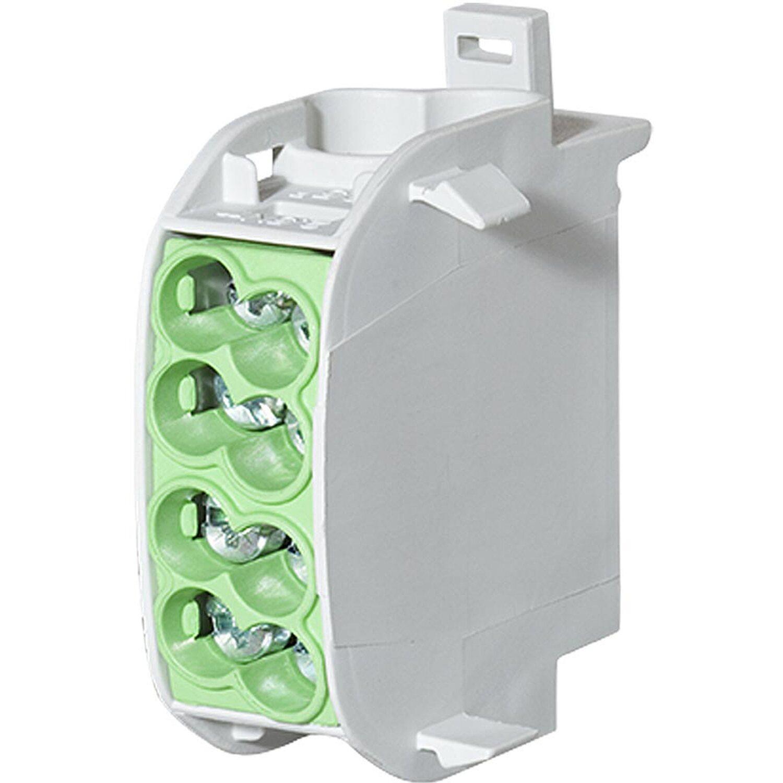 Leipold Hauptleitungs-Abzweigklemme grün fingersicher 1-polig 2 x 25 mm², 2 x 16 | Baumarkt > Elektroinstallation > Steckdosen | Grün | -- | Sonstige