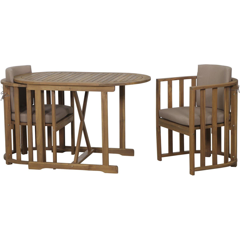 siena garden balkon set alvena 3 teilig kaufen bei obi. Black Bedroom Furniture Sets. Home Design Ideas
