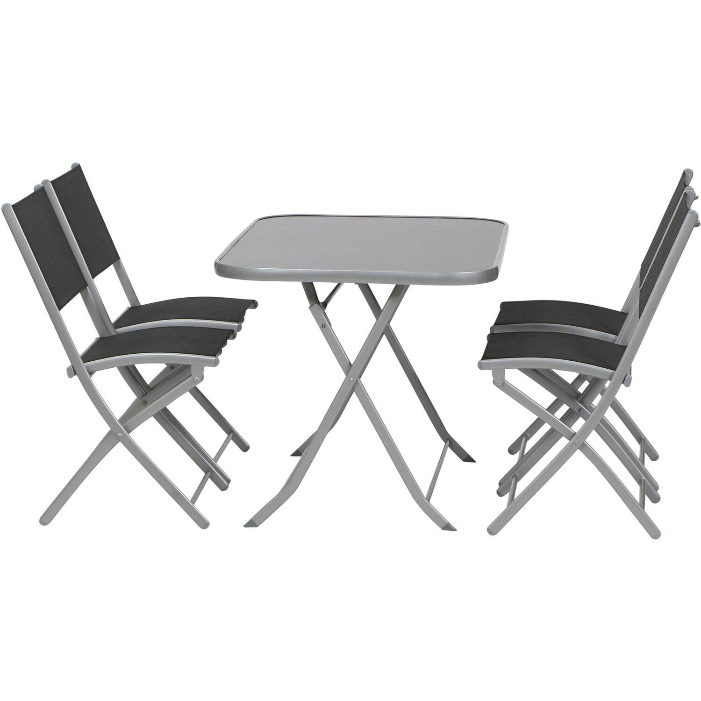 schwarzsilber Gartenmöbel-Set online kaufen | Möbel-Suchmaschine ...