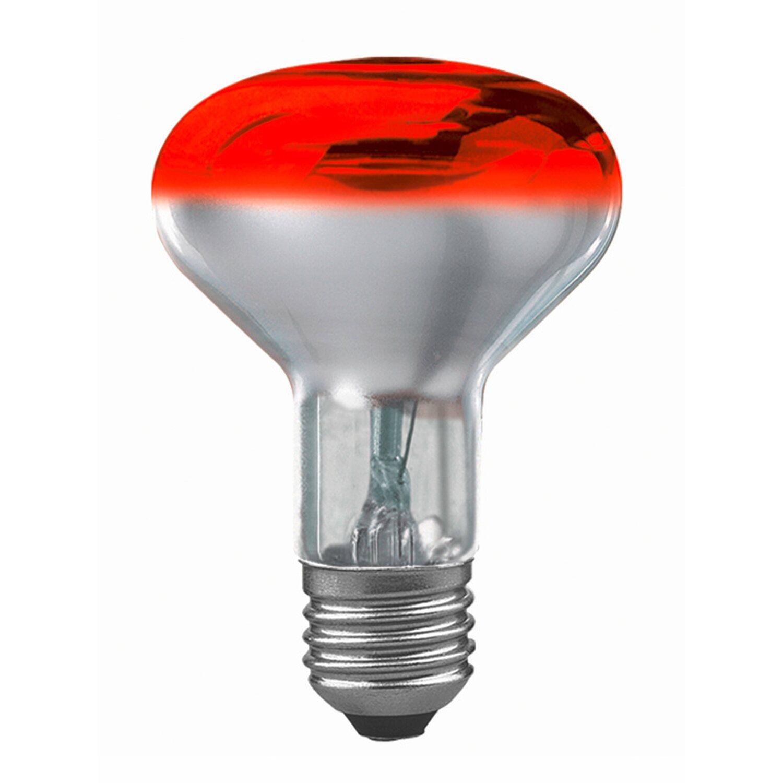 Paulmann Glühlampe Reflektor R80 E27 / 60 W Rot