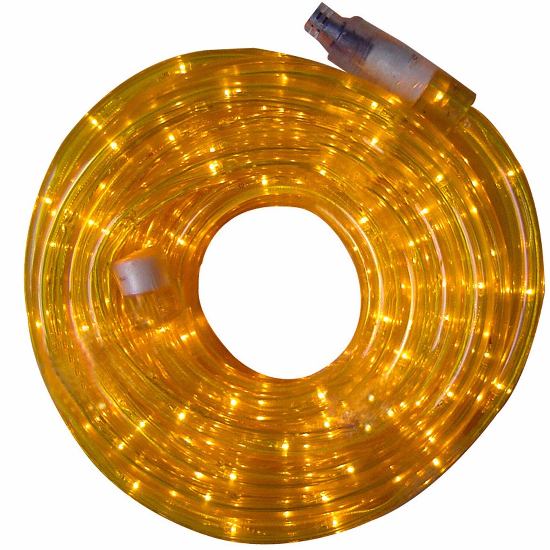 LED-Lichtschlauch 6 m Gelb EEK: A
