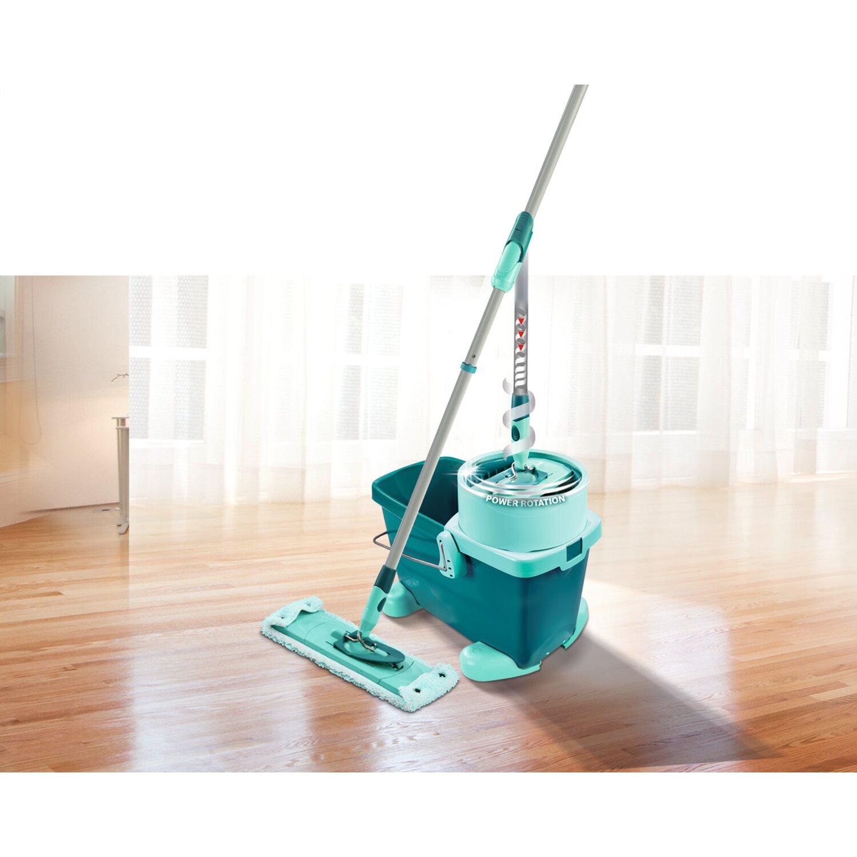 leifheit bodenwischer set clean twist m mit rollwagen kaufen bei obi. Black Bedroom Furniture Sets. Home Design Ideas
