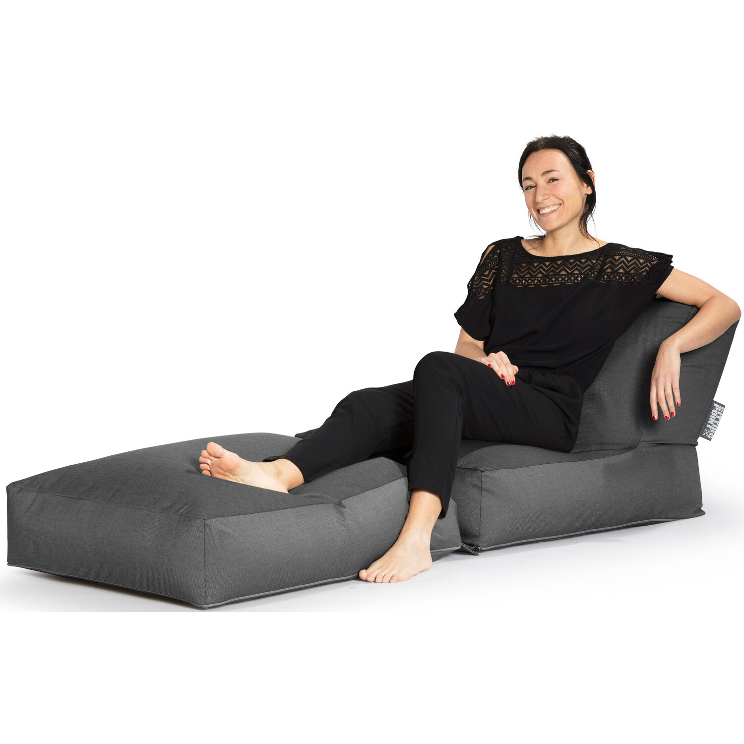 Sitting Point Sitzsack Twist Outside 300 L Anthrazit Kaufen Bei Obi