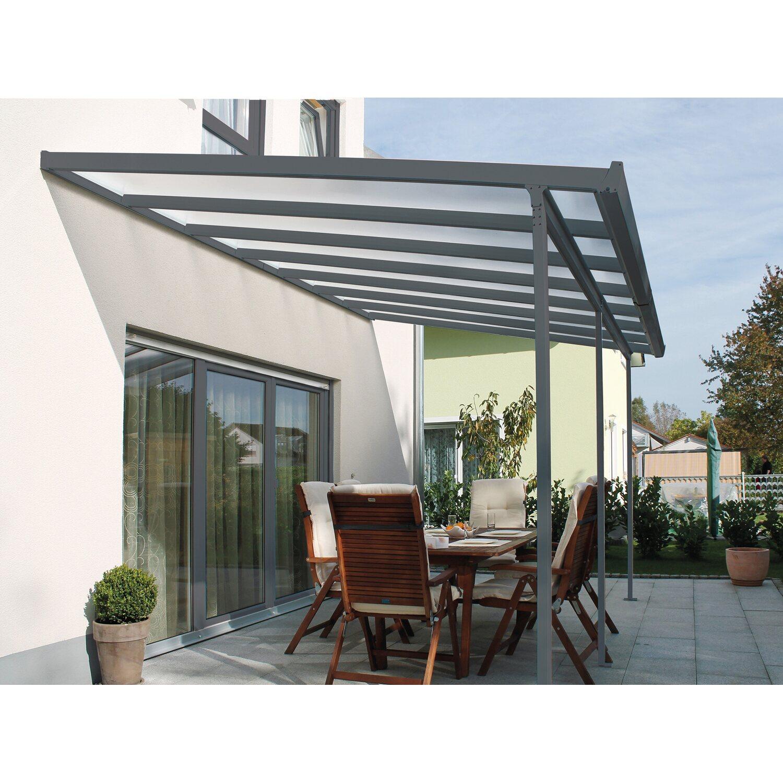 terrassen berdachung bausatz bxt 306 cm x 306 cm anthrazit kaufen bei obi. Black Bedroom Furniture Sets. Home Design Ideas