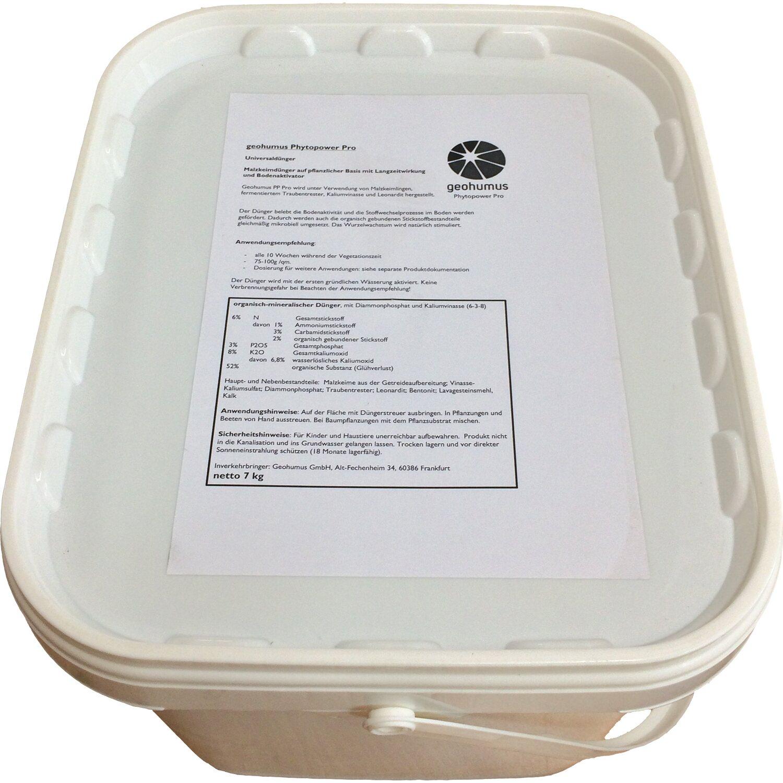Geohumus  Phytopower Pro Rasendünger 6 kg