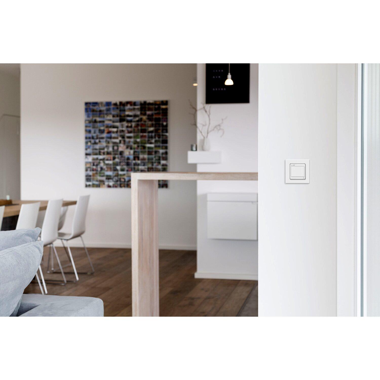 schellenberg funk lichtschalter unterputz wei kaufen bei obi. Black Bedroom Furniture Sets. Home Design Ideas