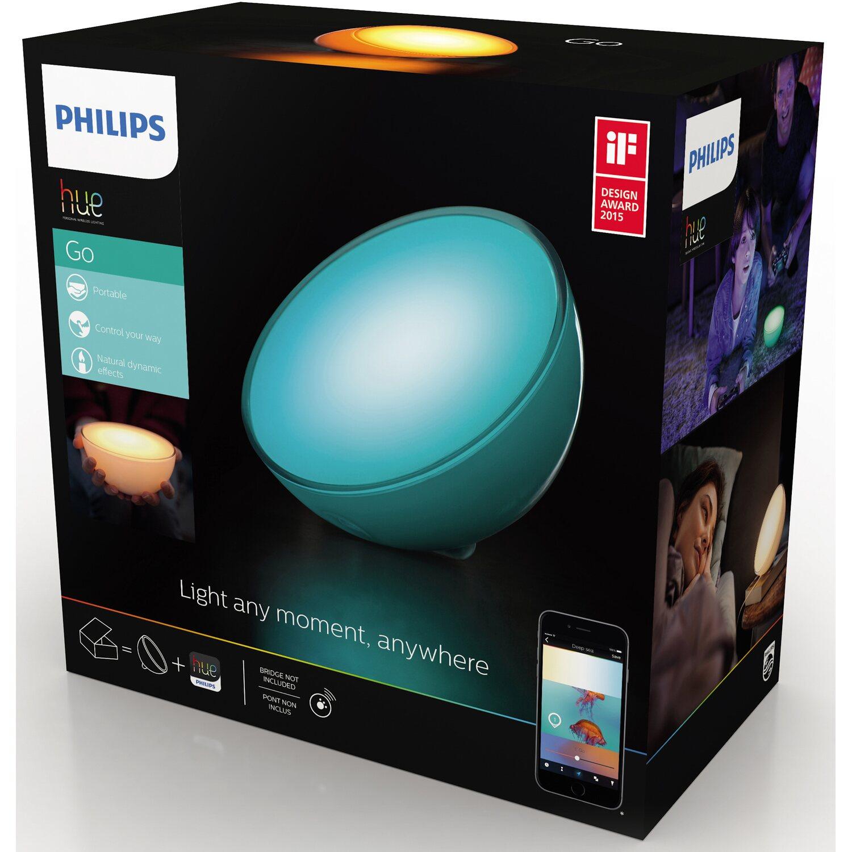 philips hue led tischleuchte go mit farbwechsler eek a kaufen bei obi. Black Bedroom Furniture Sets. Home Design Ideas