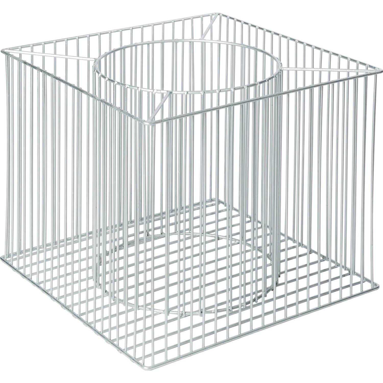 wilk gabionen pflanzgef futura l 49 cm x 49 cm. Black Bedroom Furniture Sets. Home Design Ideas