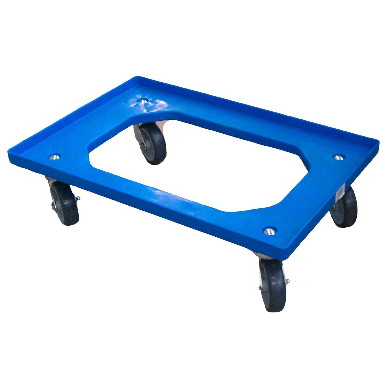 Obi Eurobox System Tauro Rollwagen 60 X 40 Cm Blau Kaufen