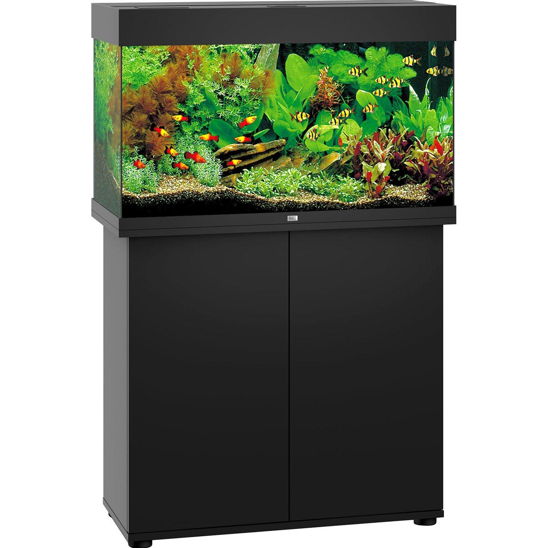 juwel aquarium rio led schwarz 125 l kaufen bei obi. Black Bedroom Furniture Sets. Home Design Ideas