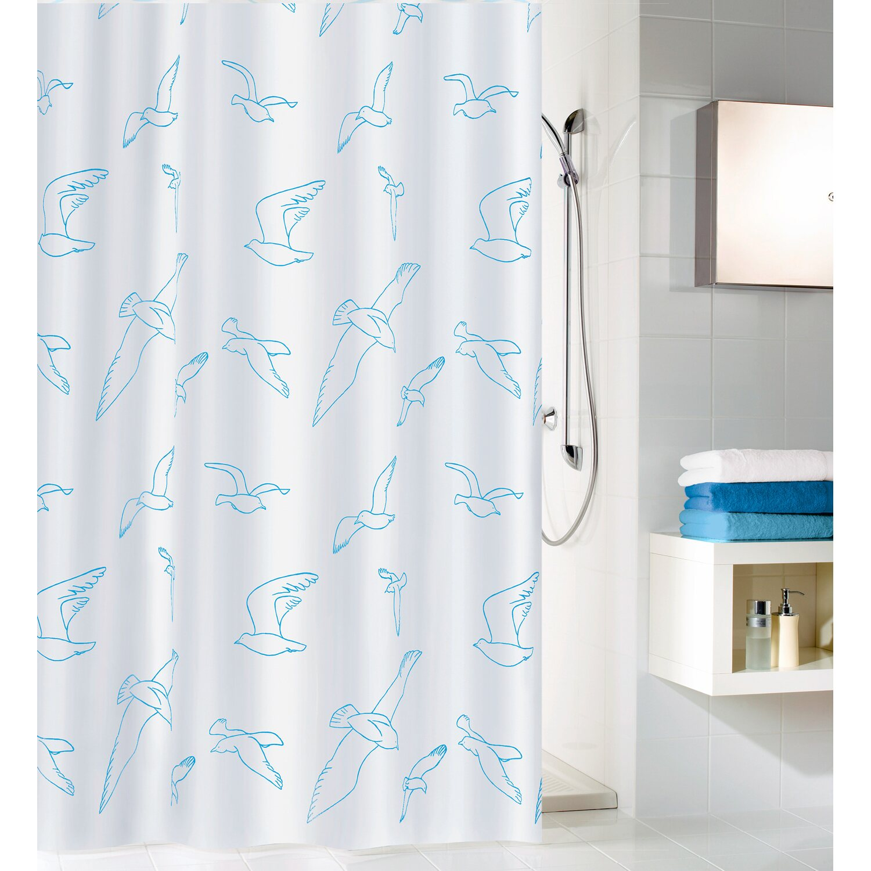 obi duschvorhang billy 120 cm x 200 cm wei kaufen bei obi. Black Bedroom Furniture Sets. Home Design Ideas