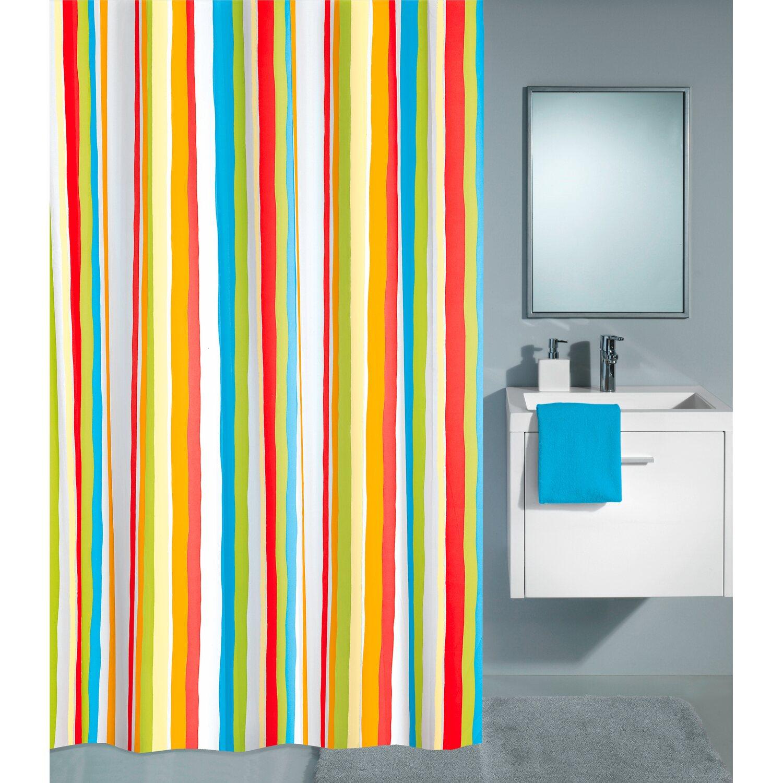obi duschvorhang trinidad 180 cm x 200 cm multicolor. Black Bedroom Furniture Sets. Home Design Ideas