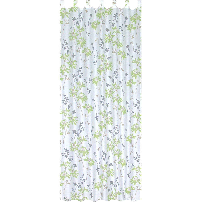 Bennetti  Schlaufenschal Ausbrenner-Druck Apfelgrün 140 cm x 245 cm