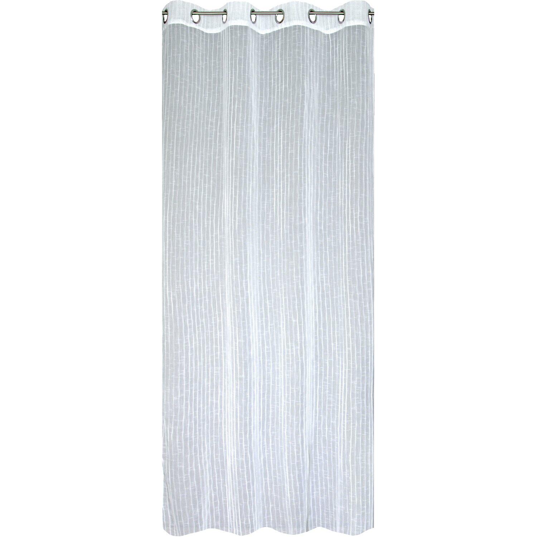 Bennetti  Ösenschal Weiß 140 cm x 245 cm
