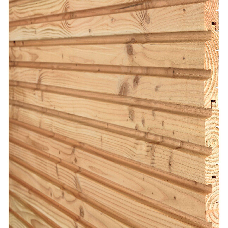 Fassaden le mit Trapez Profil Douglasie 200 cm x 14 5 cm x 2 8