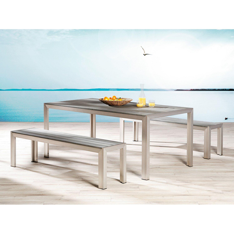 Gartenmöbel-Set Seattle Silber-Anthrazit kaufen bei OBI