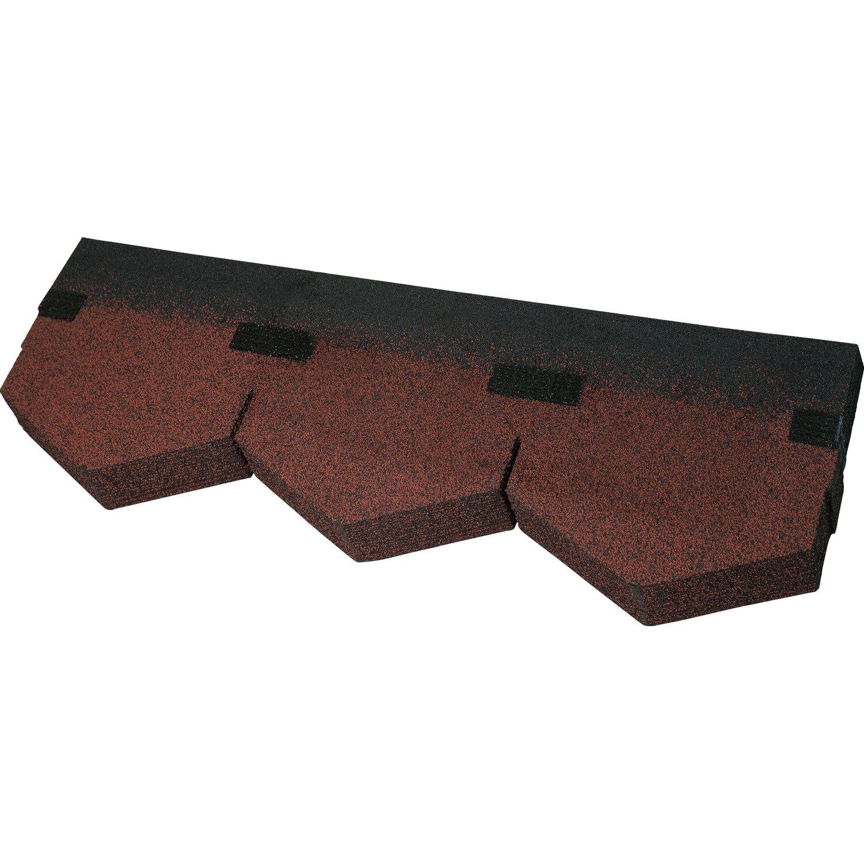 bitumen dreieckschindel rot 2 m paket kaufen bei obi. Black Bedroom Furniture Sets. Home Design Ideas